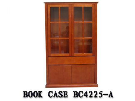 TASMANIAN OAK TIMBER BOOK CASE BC42250-A