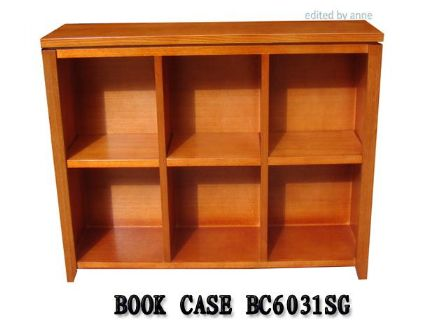TASMANIAN OAK TIMBER BOOK CASE BC-6031SG