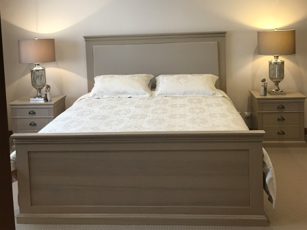 TASMANIAN OAK TIMBER BED BD-CATERINA