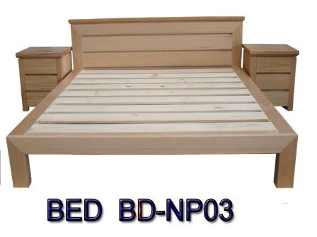 TASMANIAN OAK TIMBER BED BD-NP03 to a