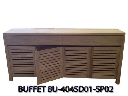 SPOTTED GUM TIMBER BUFFET BU-404SD01-SP02