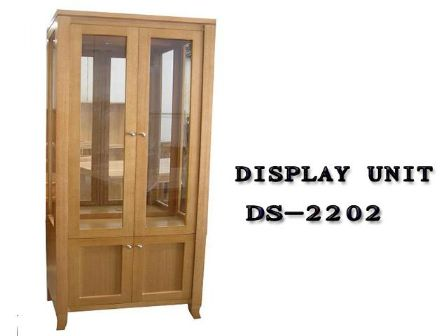 TASMANIAN OAK TIMBER DISPLAY UNIT DS-2202