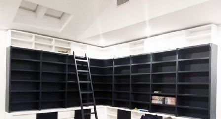 Polyurethane Build-in Wall Unit in Black
