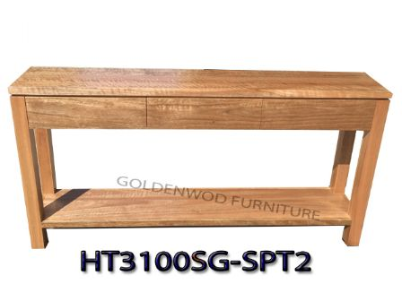 SPOTTED GUM TIMBER HALL TABLE HT3100SG-SPT2