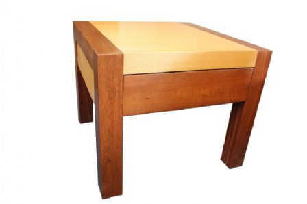 TASMANIAN OAK & JARRAH Lamp Table FLT2TOJ