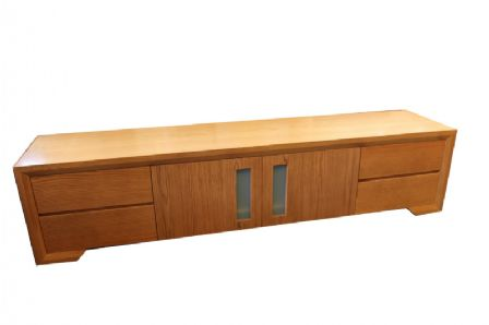 AMERICAN OAK Low Line TV Unit  TVU6AO