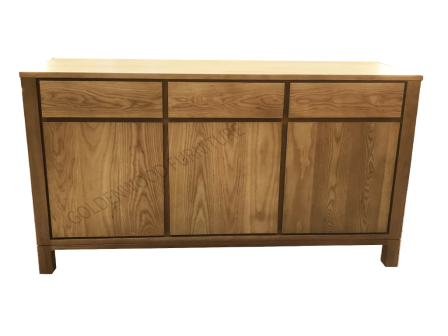 AMERICAN OAK TIMBER BUFFET BU-303GAP01