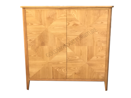 SOLID AMERICAN OAK  TIMBER BUFFET BU-40LINGD04