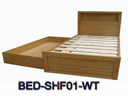 TASMANIAN OAK TIMBER BED BD-01WT to a