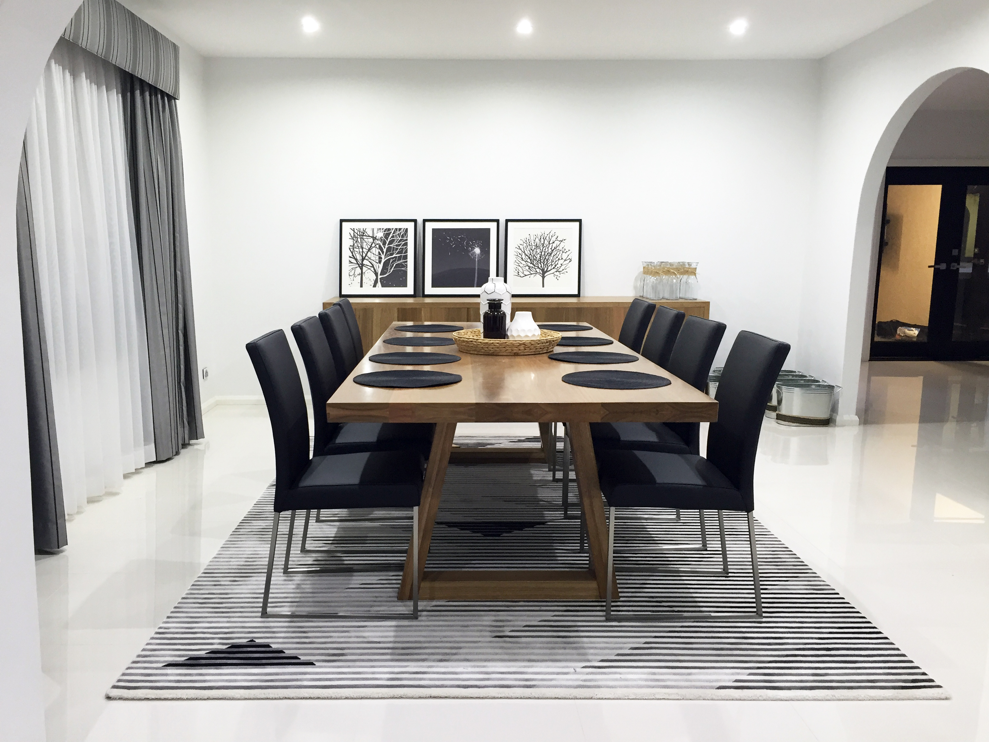 Spotted Gum Dining Suite