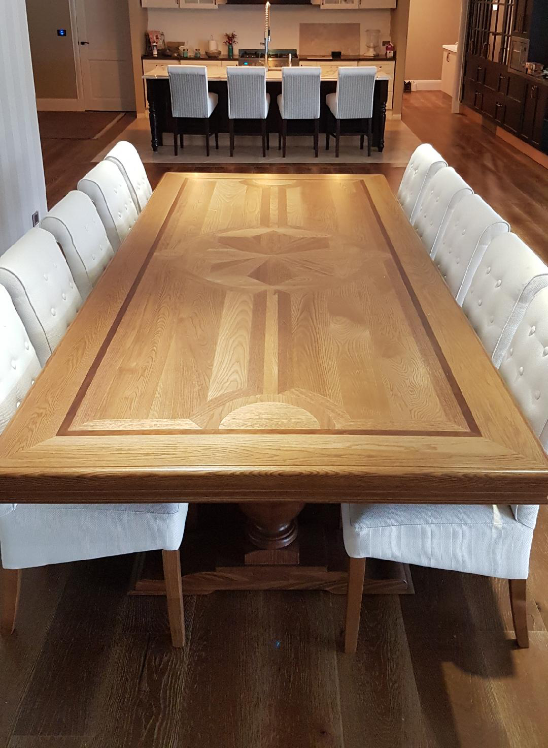 American oak Table