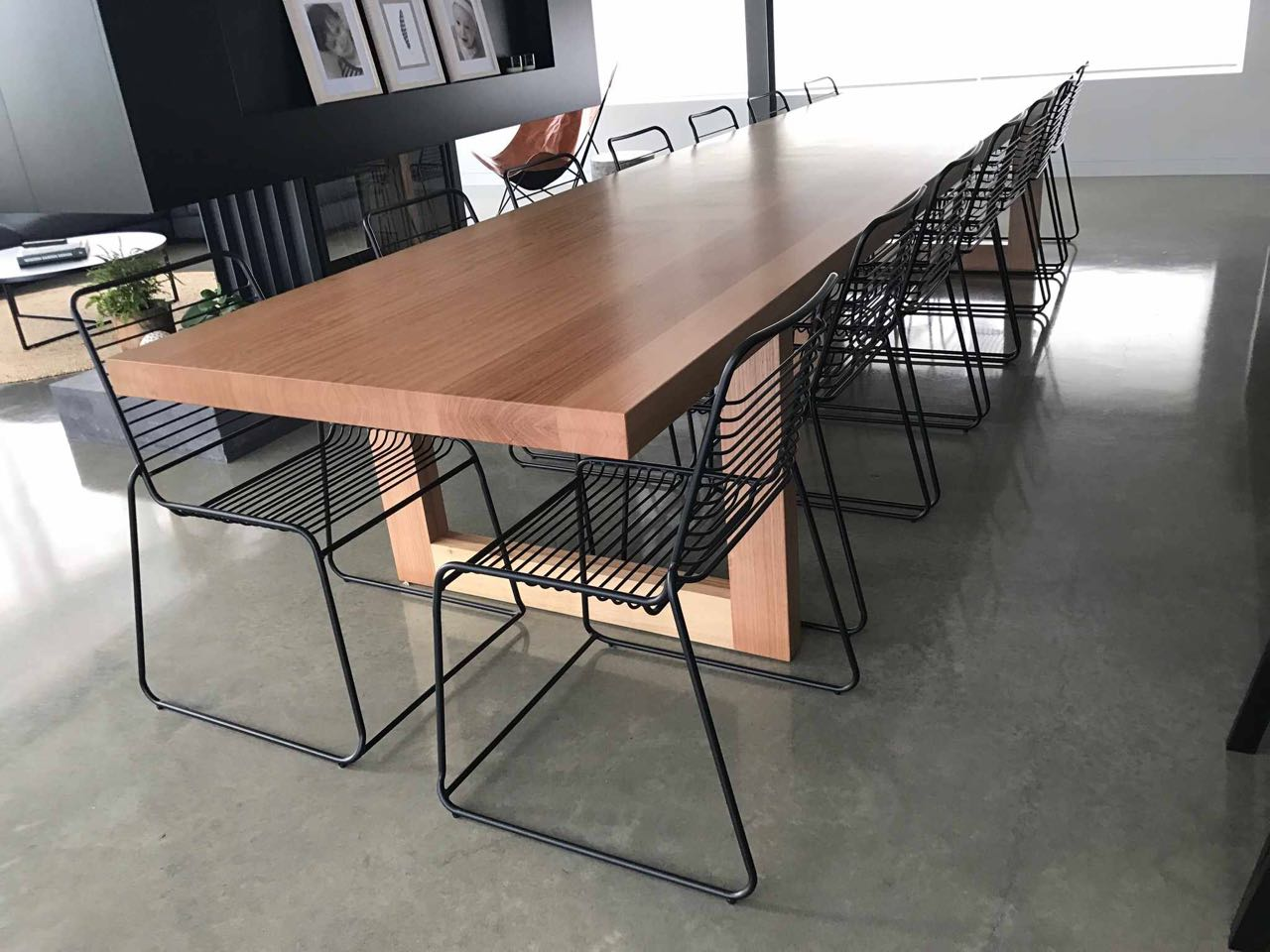 Tasmanian Oak Timber Dining Table