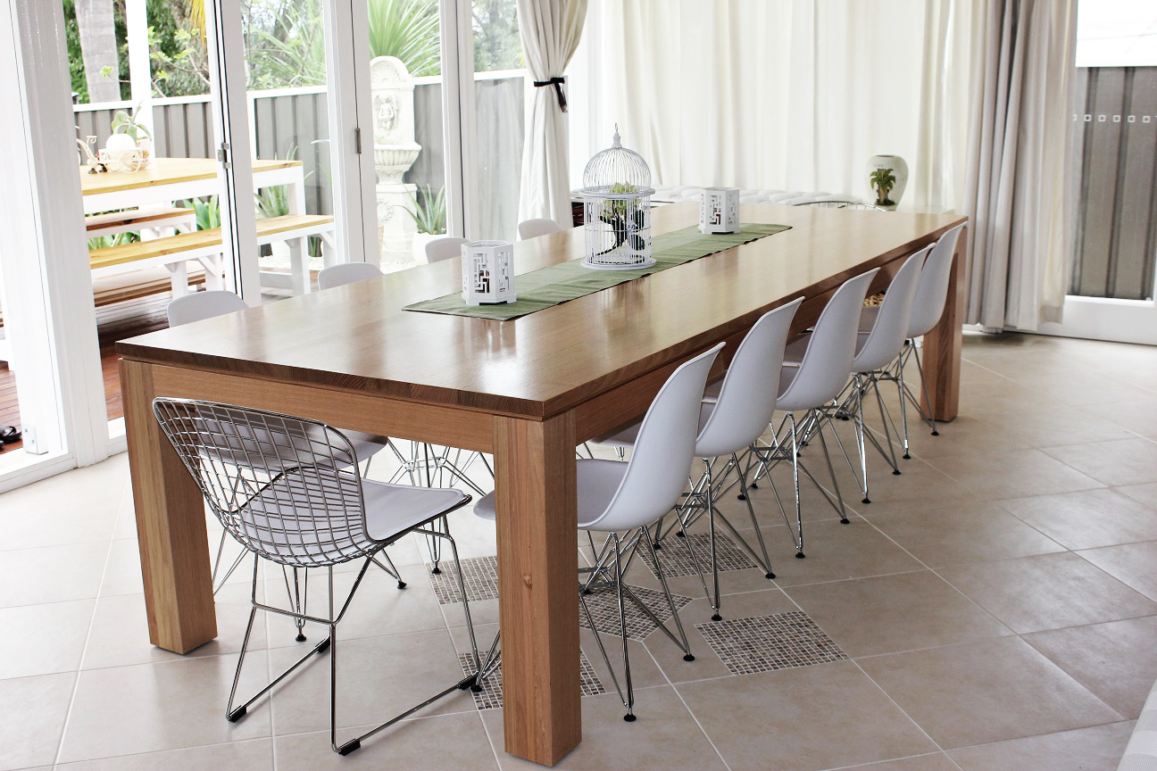 Tasmanian Oak Dining Table